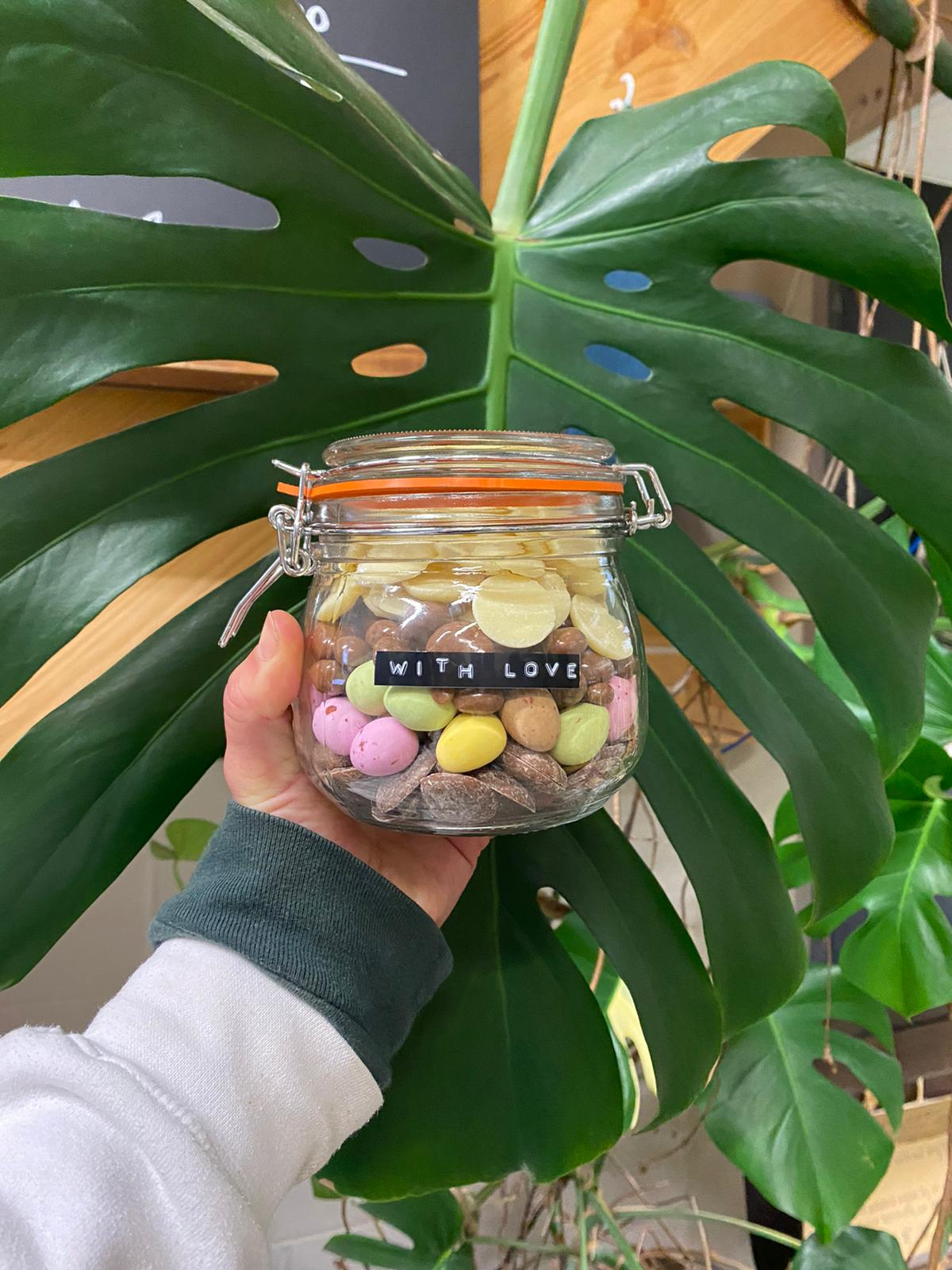 With Love Gift Jar
