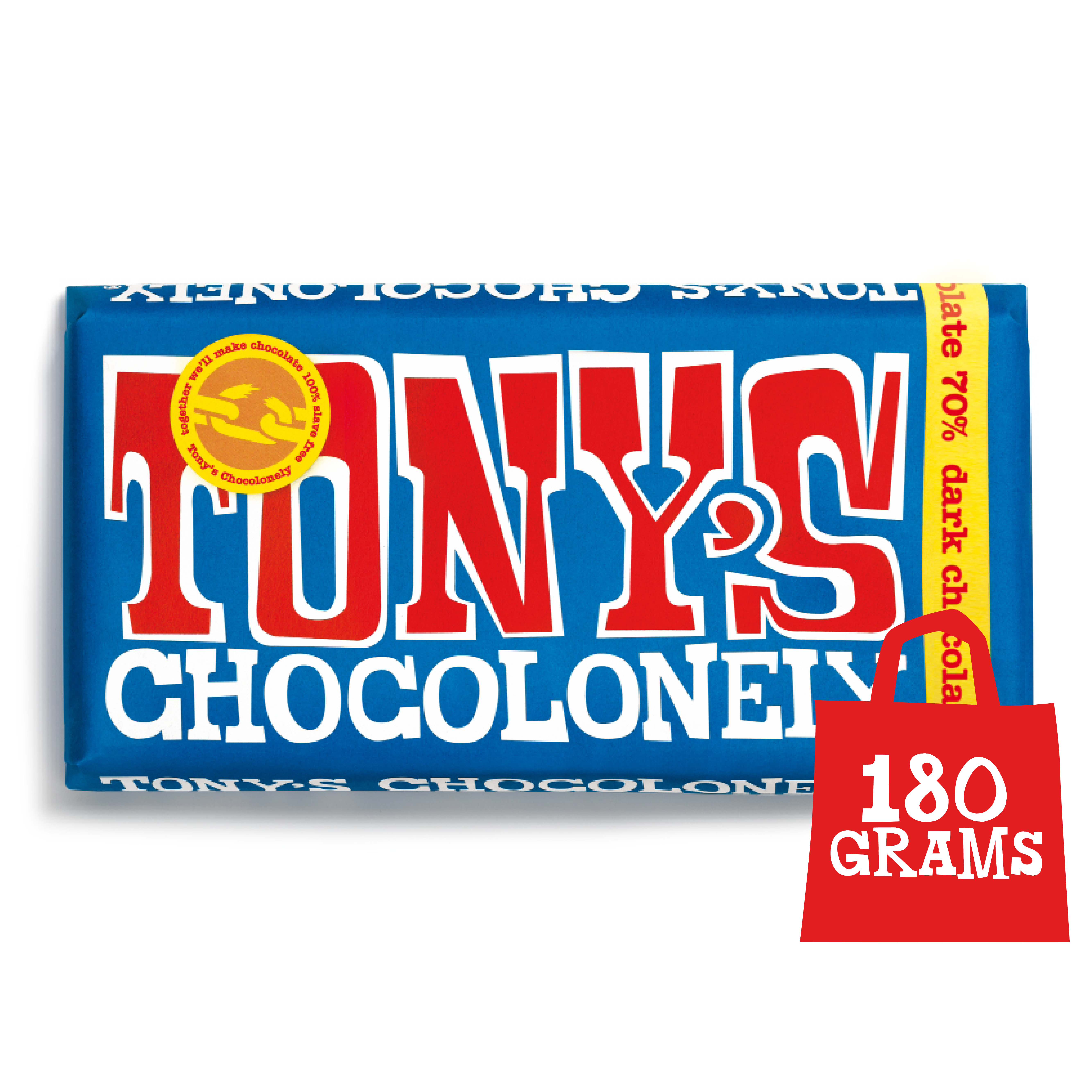 Extra Dark Chocolate 70% | Tony's Chocolonely
