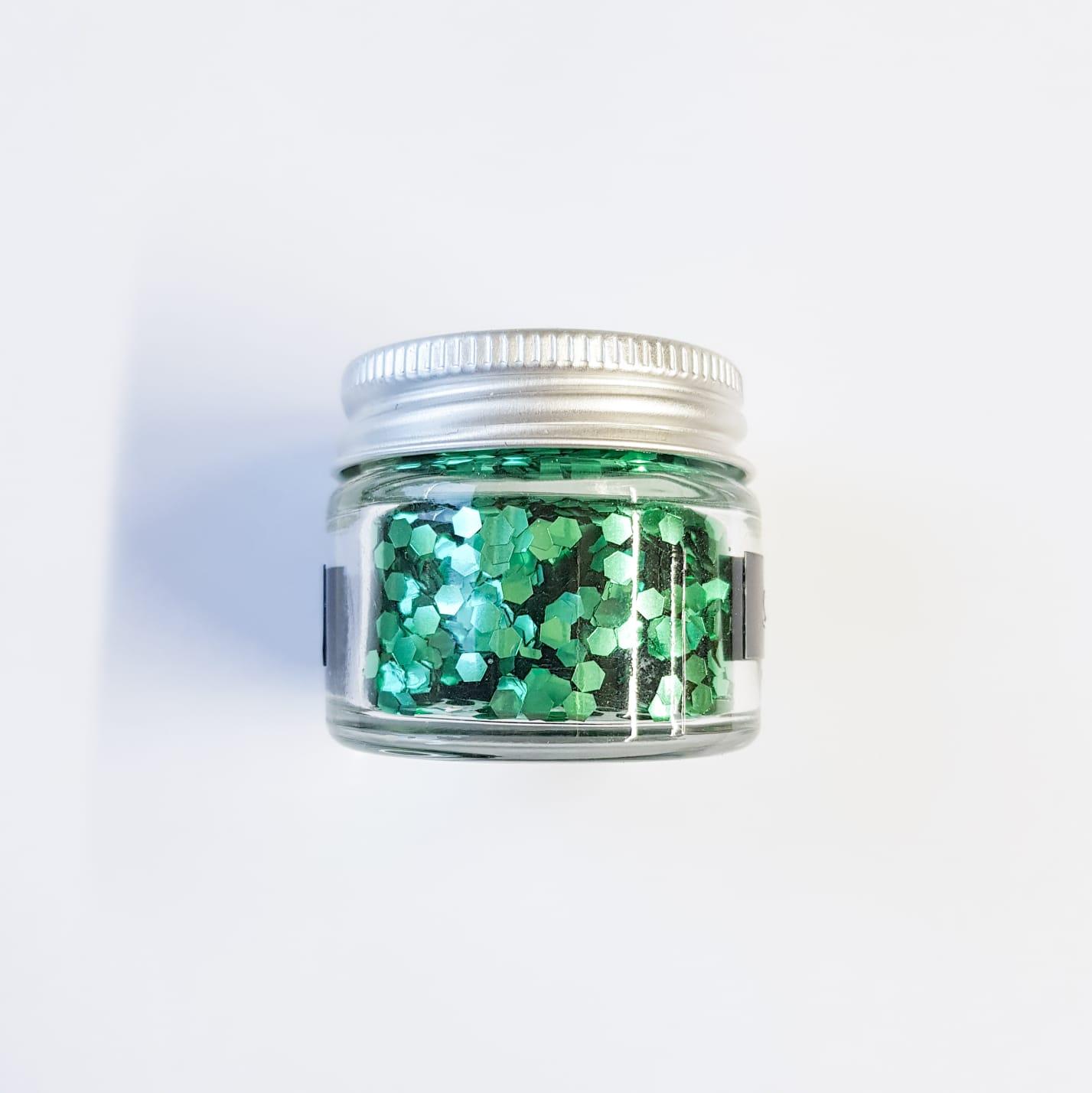 Spring Green Glitter | Lemon & Jinja