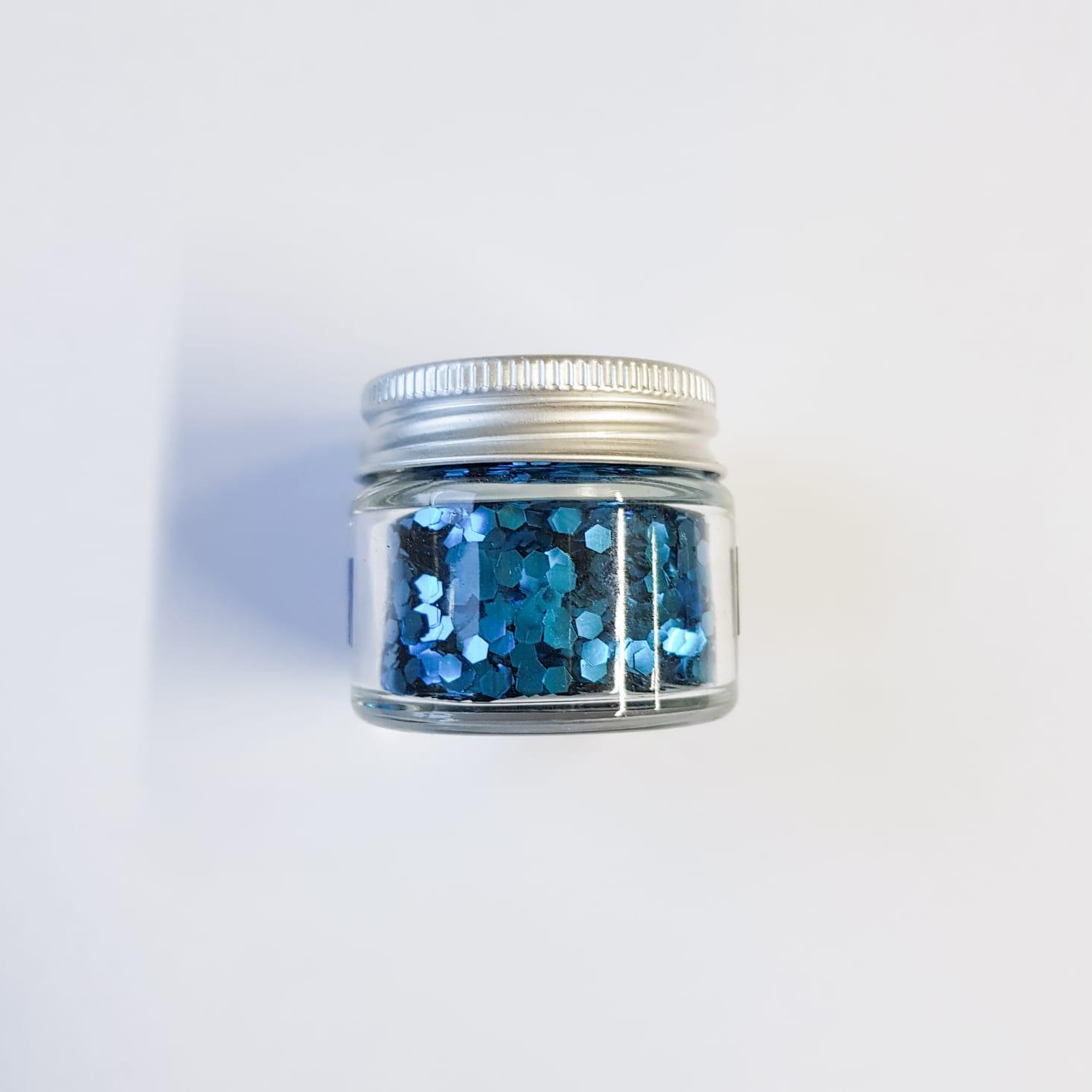 Ocean Blue Large Glitter | Lemon & Jinja