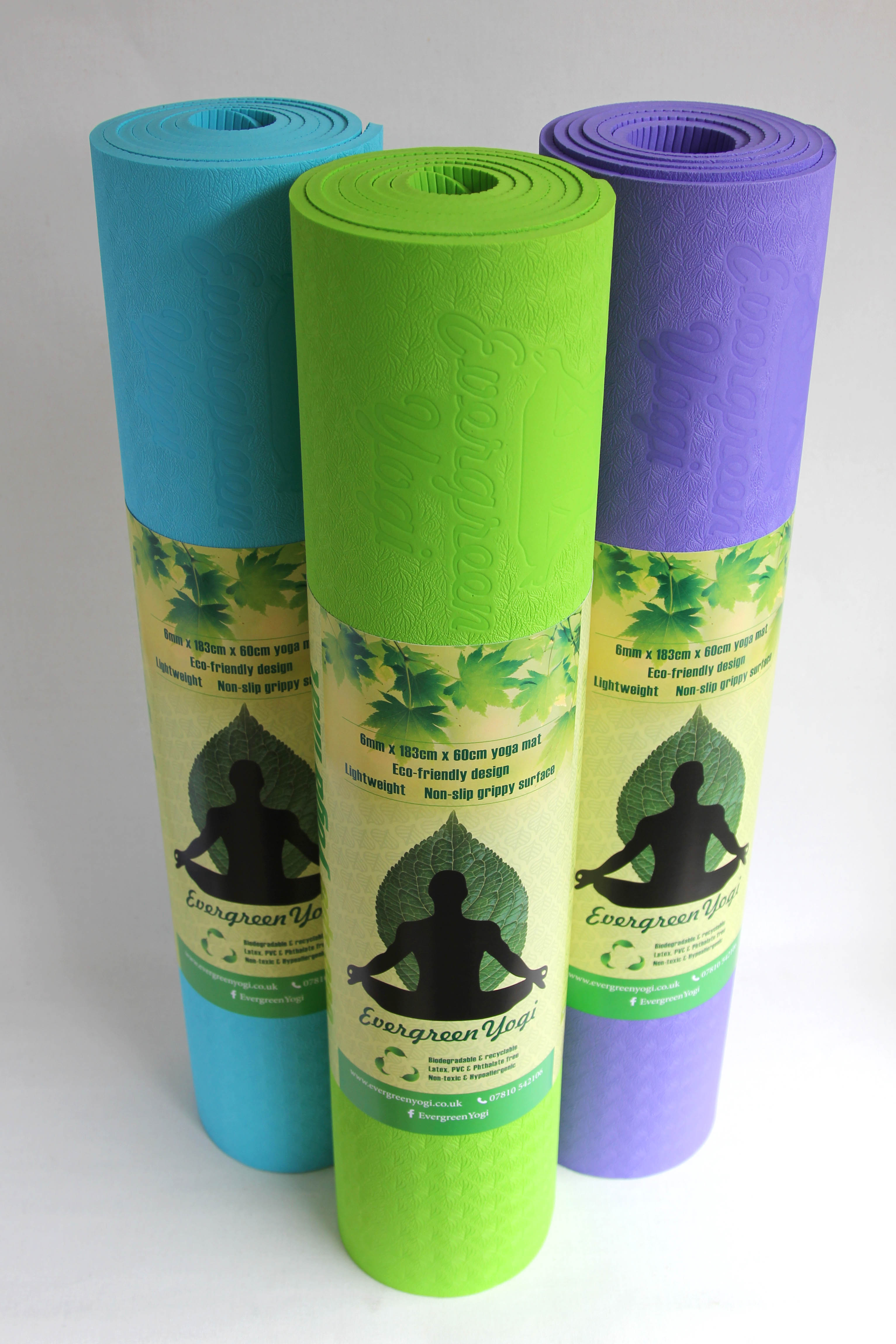 Yoga Mat TPE | Evergreen Yogi
