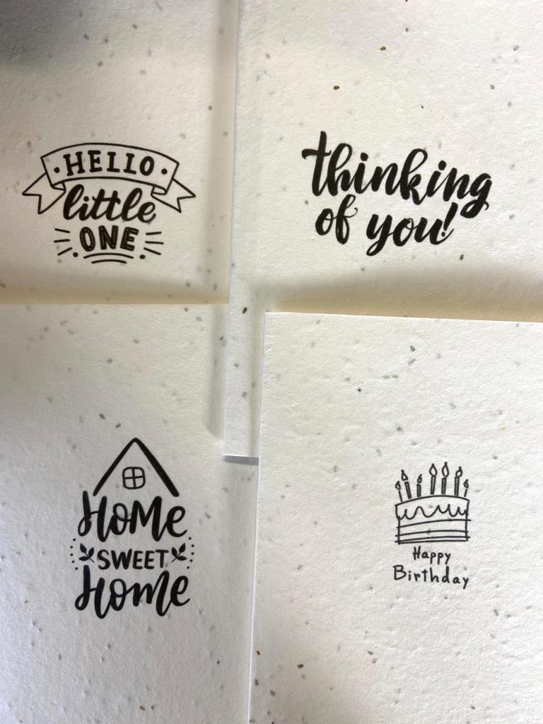 Greetings Cards | Seed Paper