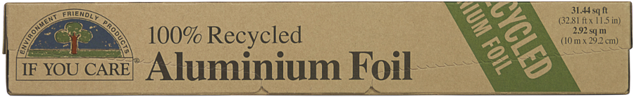 Recycled Aluminium Foil | If You Care