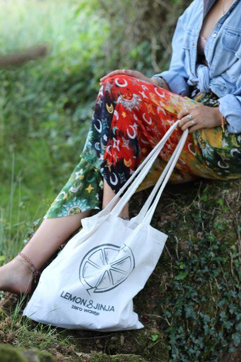 Lemon & Jinja Tote Bag
