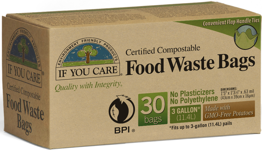 Compostable Food Waste Bags | If You Care