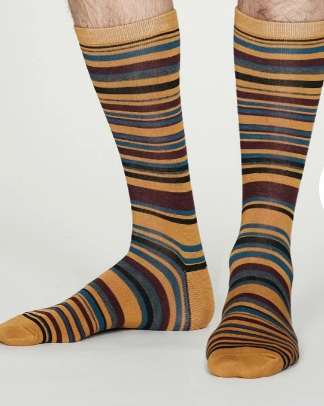 Stripey Socks | Thought Clothing