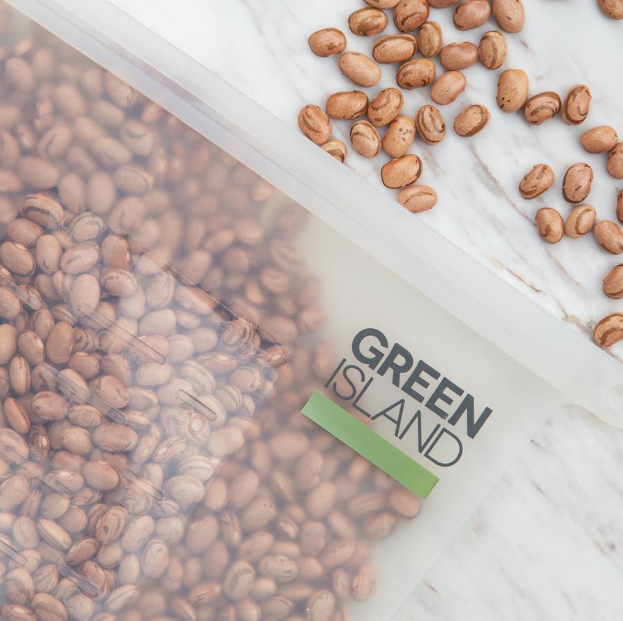 Silicone Food Bags | Green Island