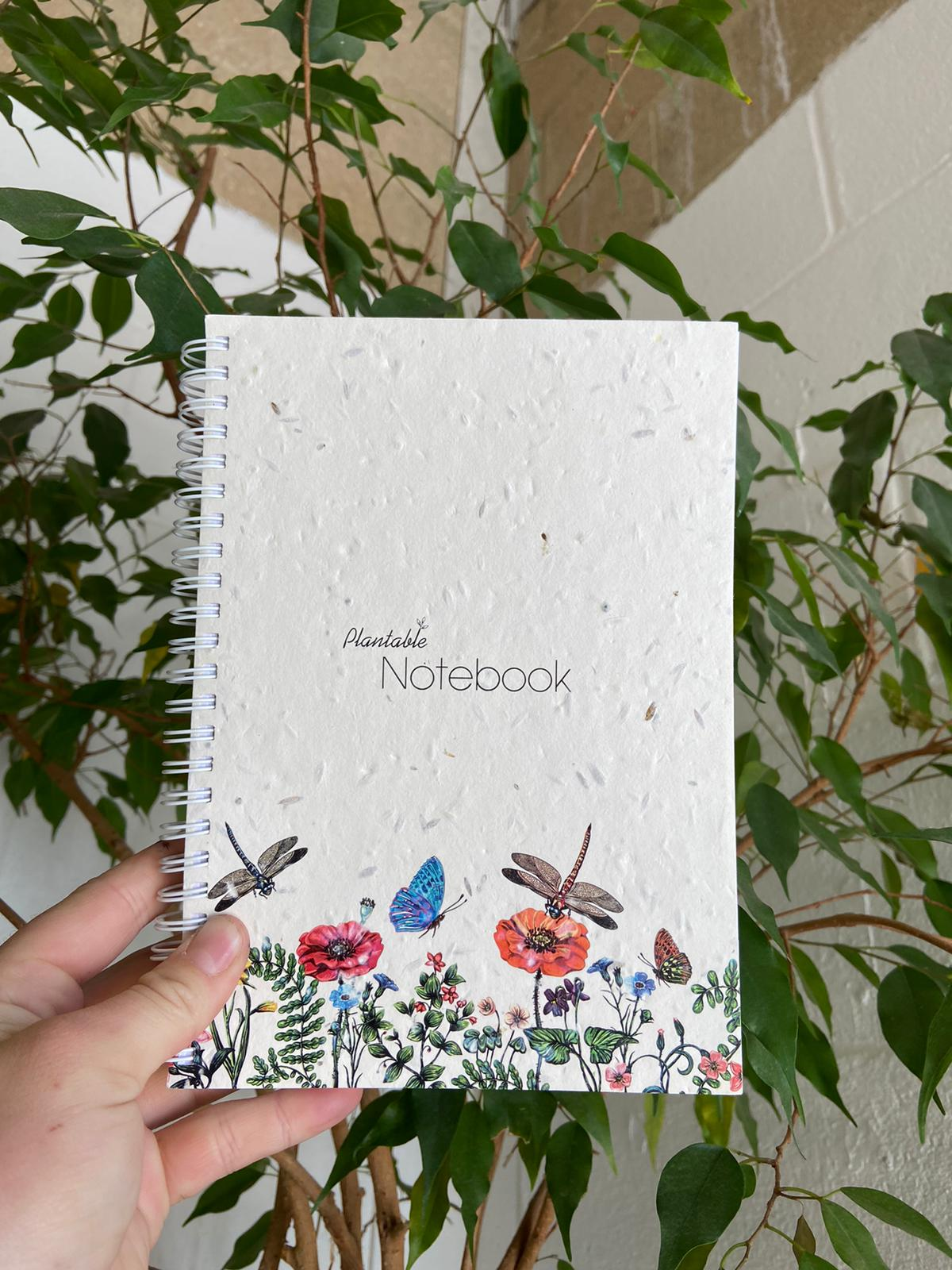 Dragonfly Plantable Notebook