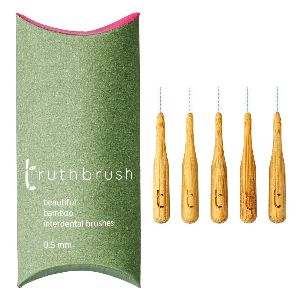 Bamboo Interdental Brushes | Truthbrush