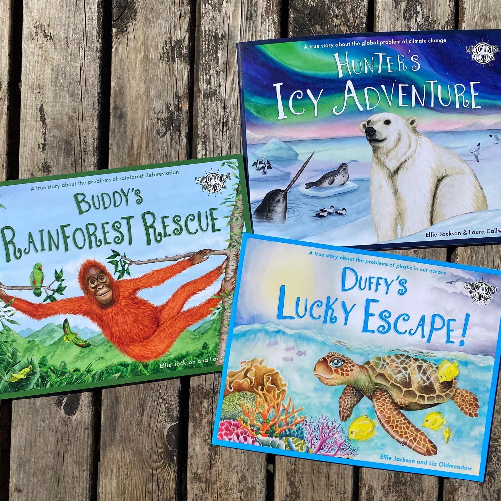 Wild Tribe Heroes Children's Books | Ellie Jackson & Laura Callwood
