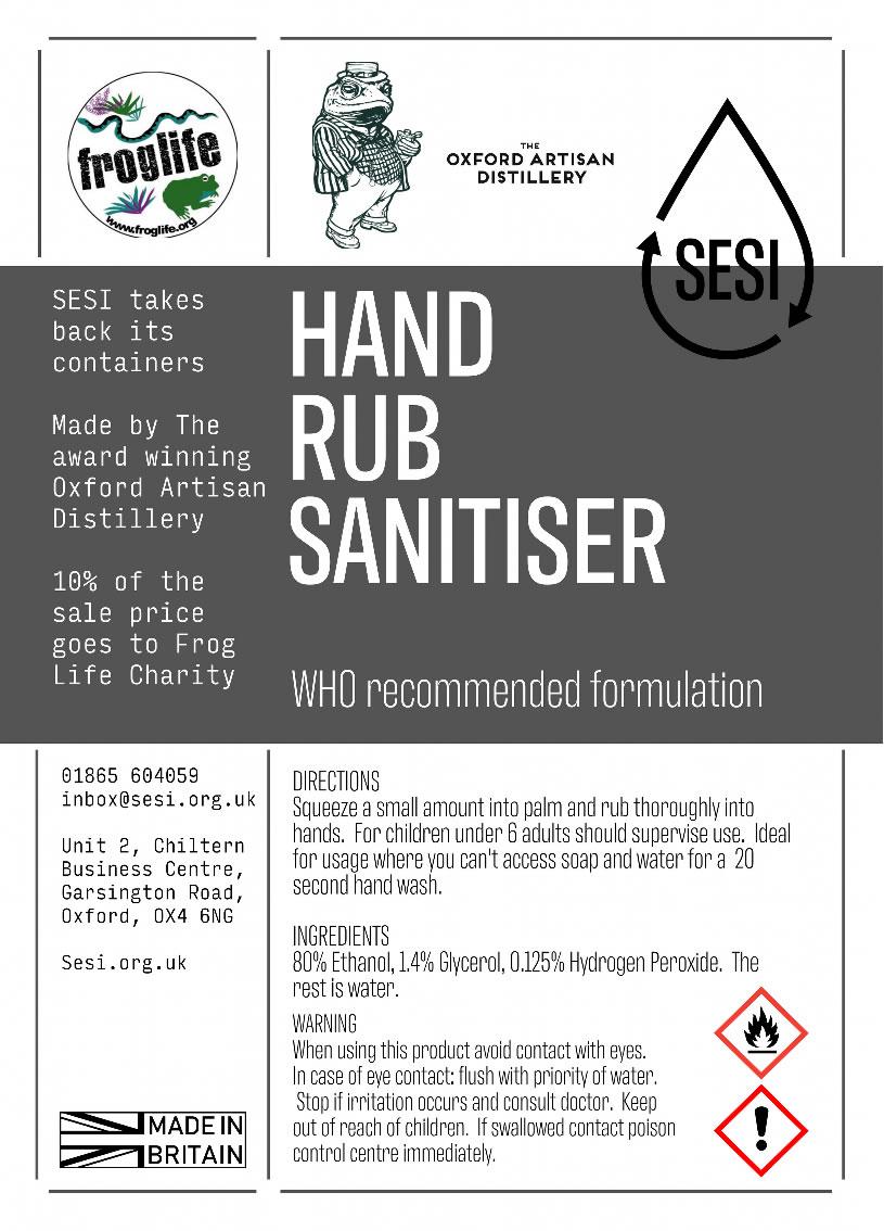 Hand Sanitiser | SESI Refillable