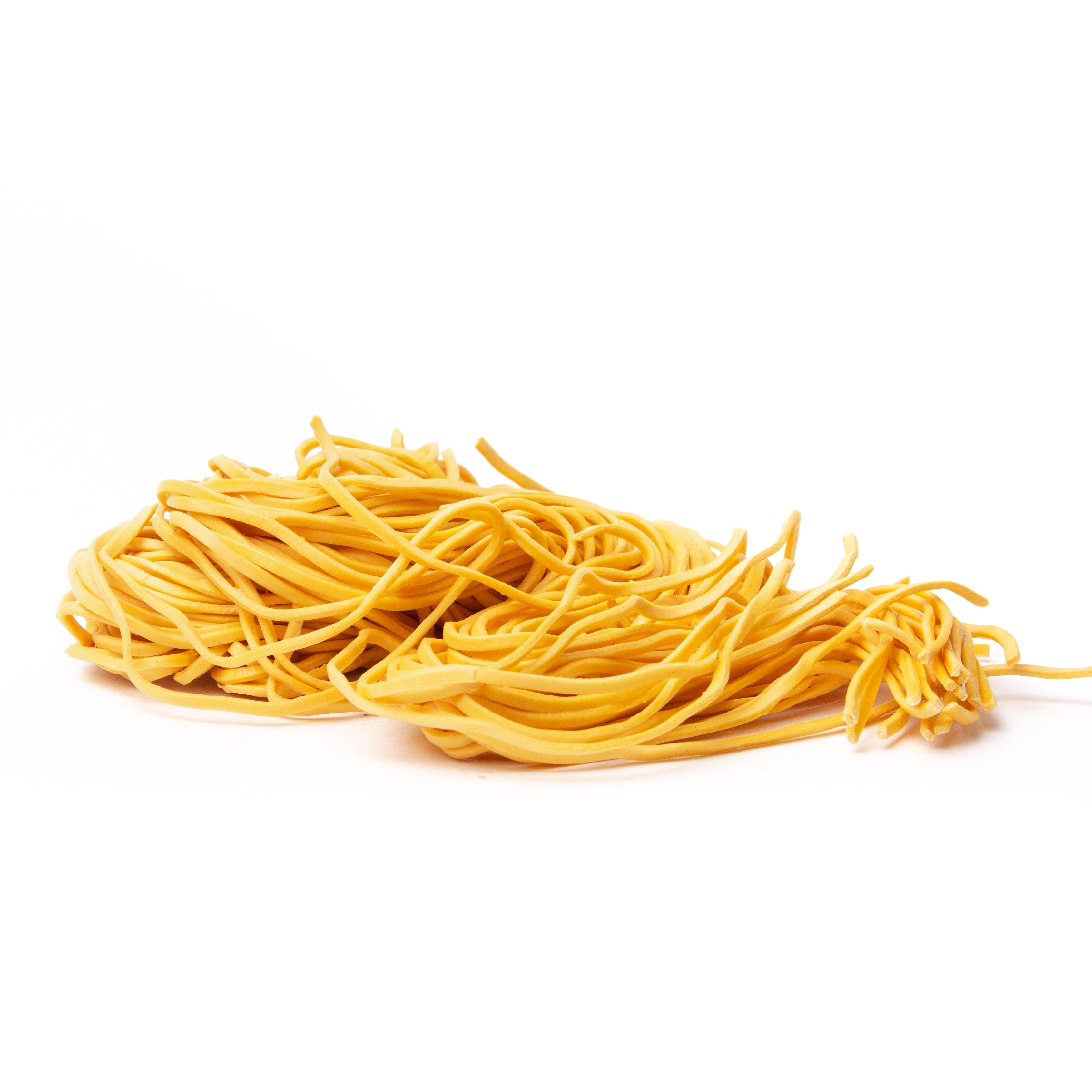 Thick Wheat Noodles | Vegan