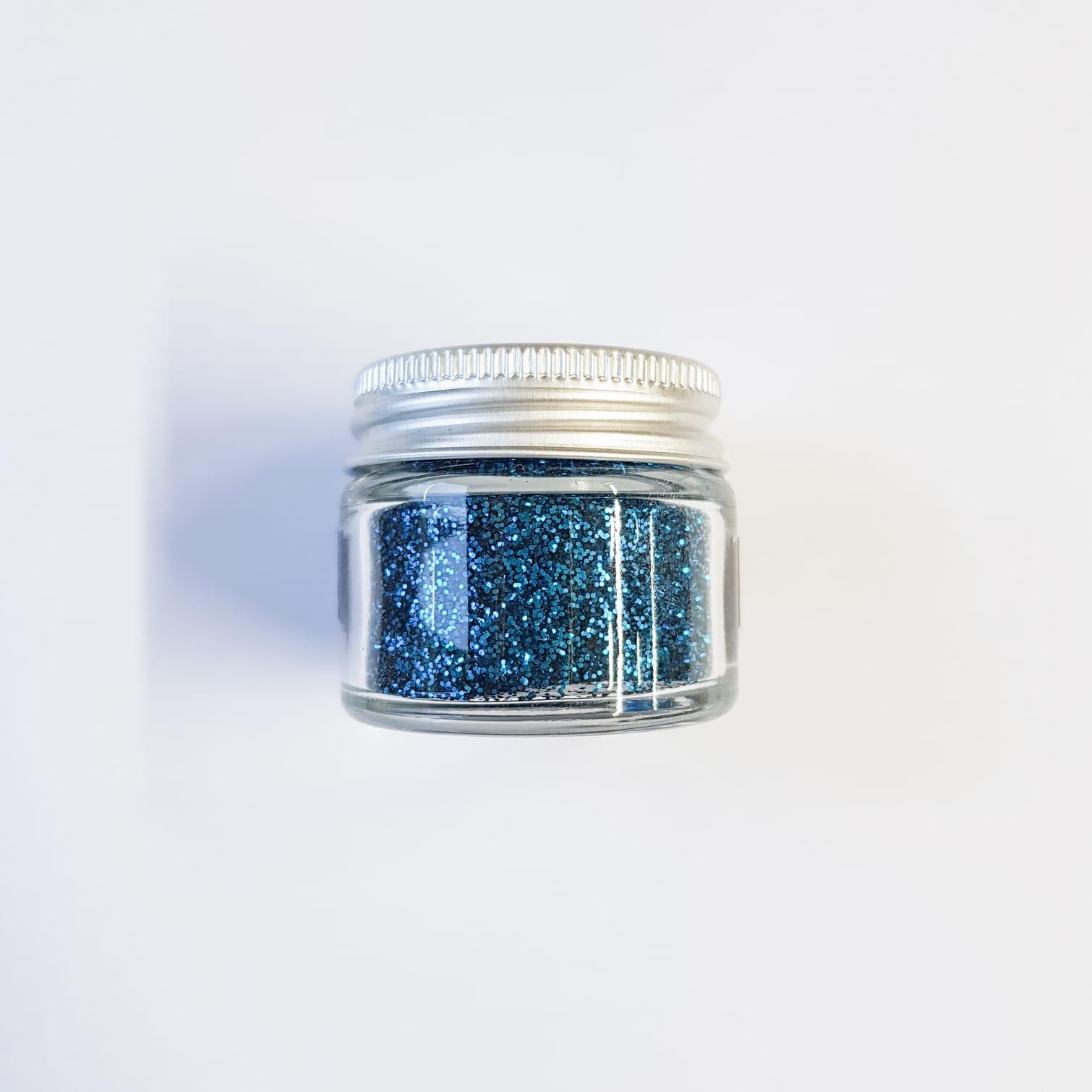 Ocean Blue Small Glitter | Lemon & Jinja