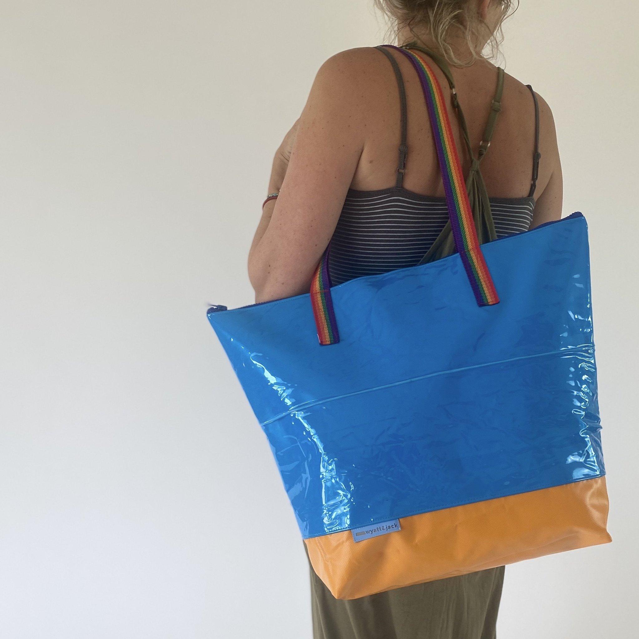 Ex Inflatable XL Tote Bag   Wyatt & Jack
