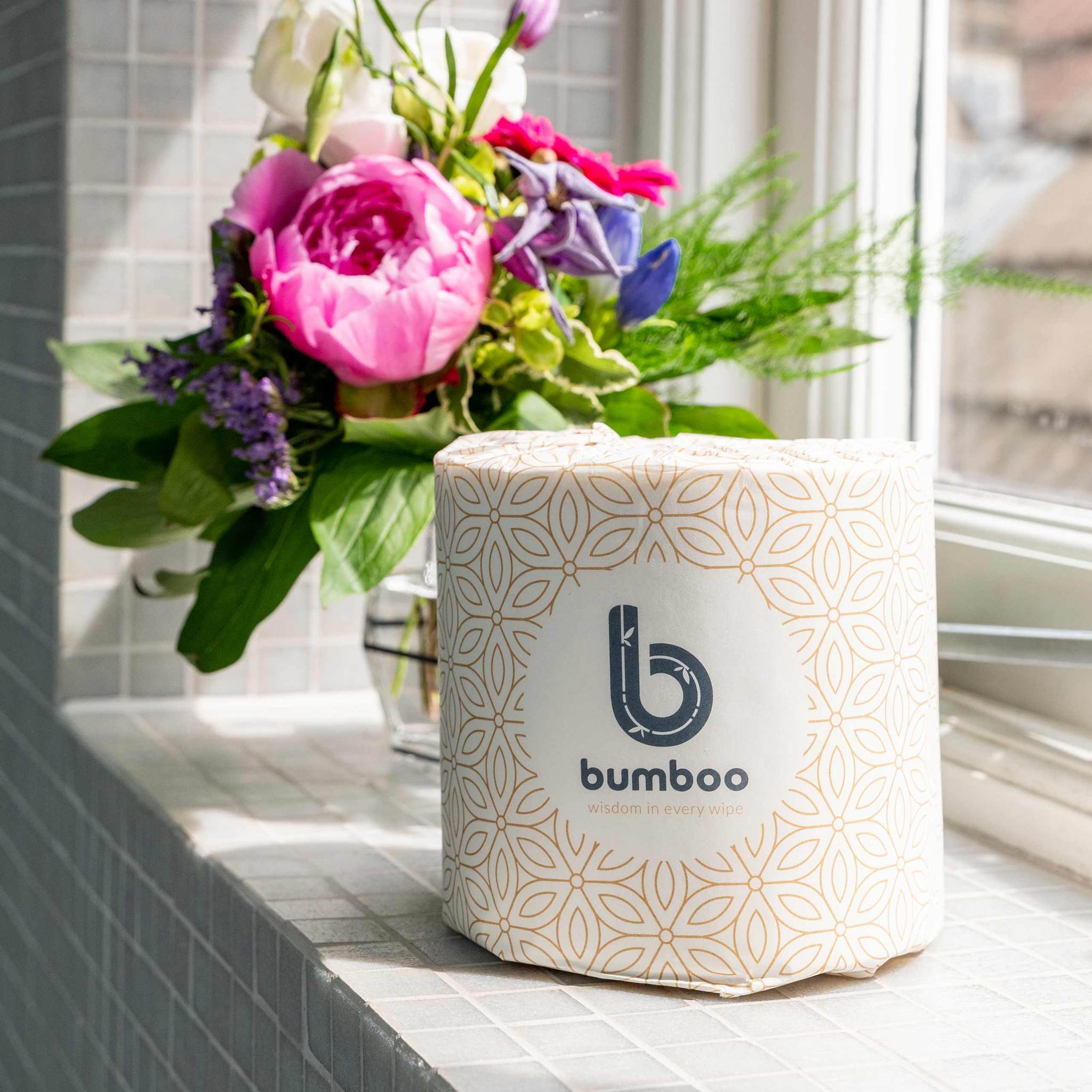 Luxury Wrapped Bamboo Toilet Roll | Bumboo