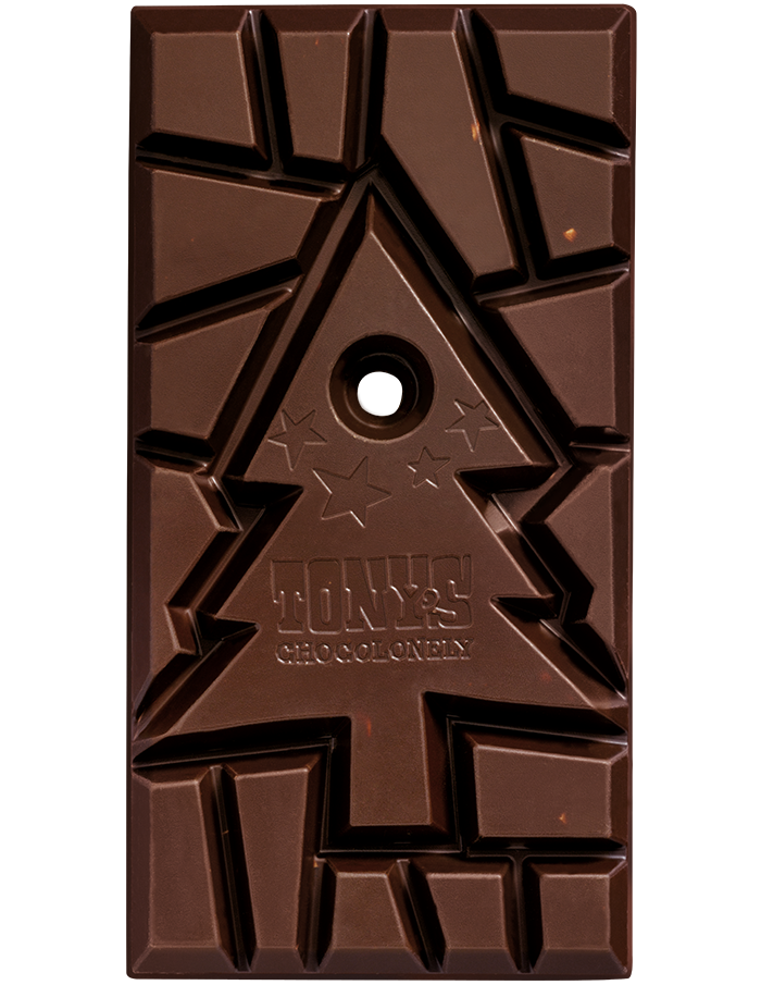 Dark Chocolate Mint Candy Cane 51% | Tony's Chocolonely