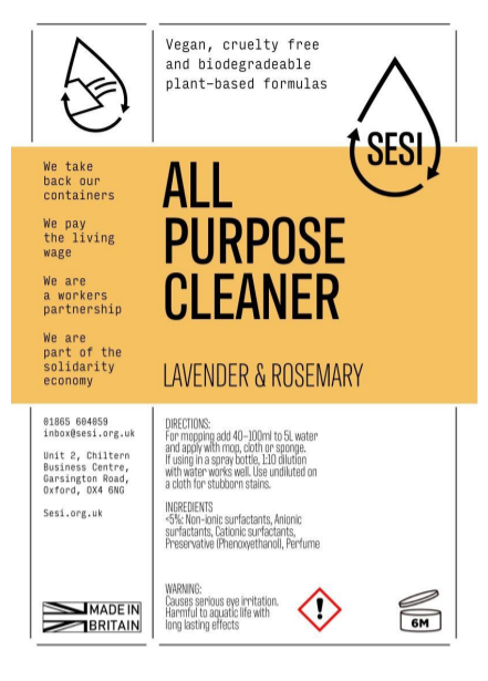 All Purpose Cleaner | SESI Refillable