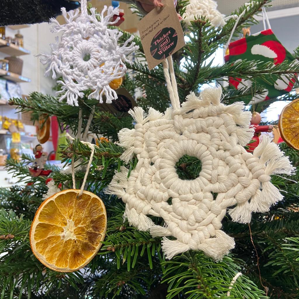 Macramé Snowflake Large