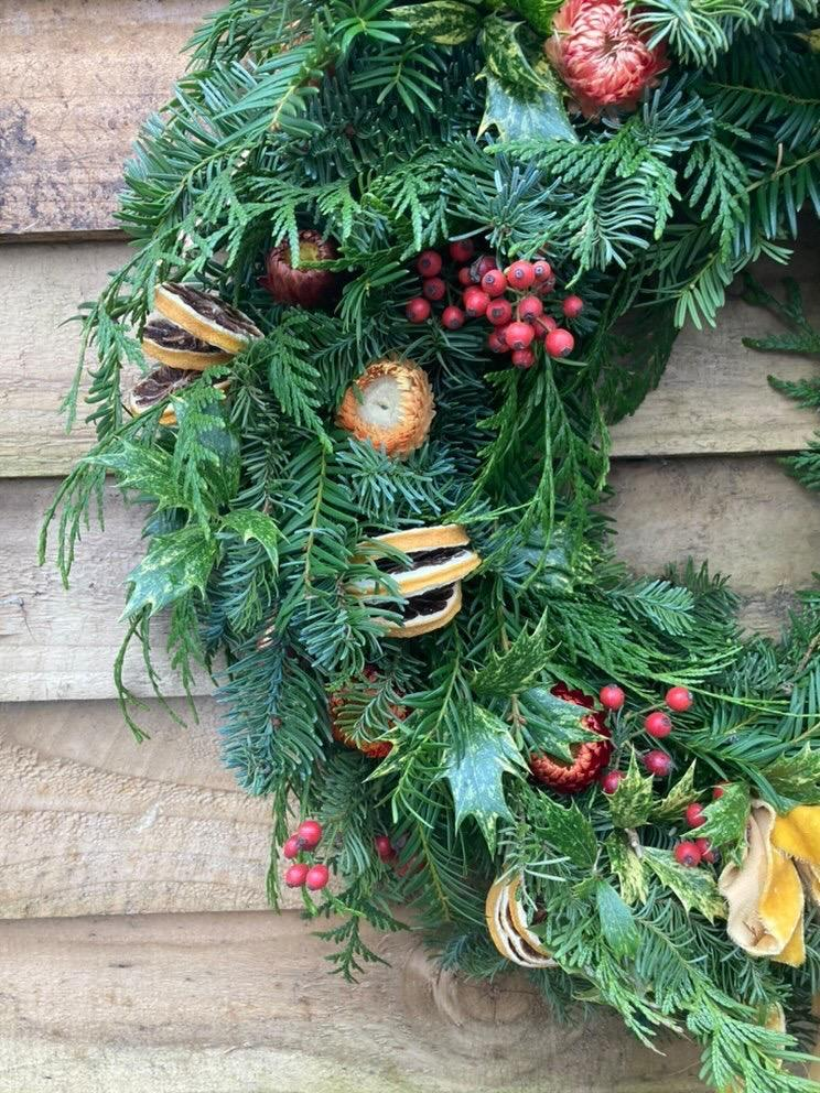 Handmade Christmas Wreaths   Fig & Bramble