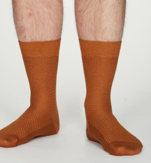Mustard Dress Socks | Thought Clothing