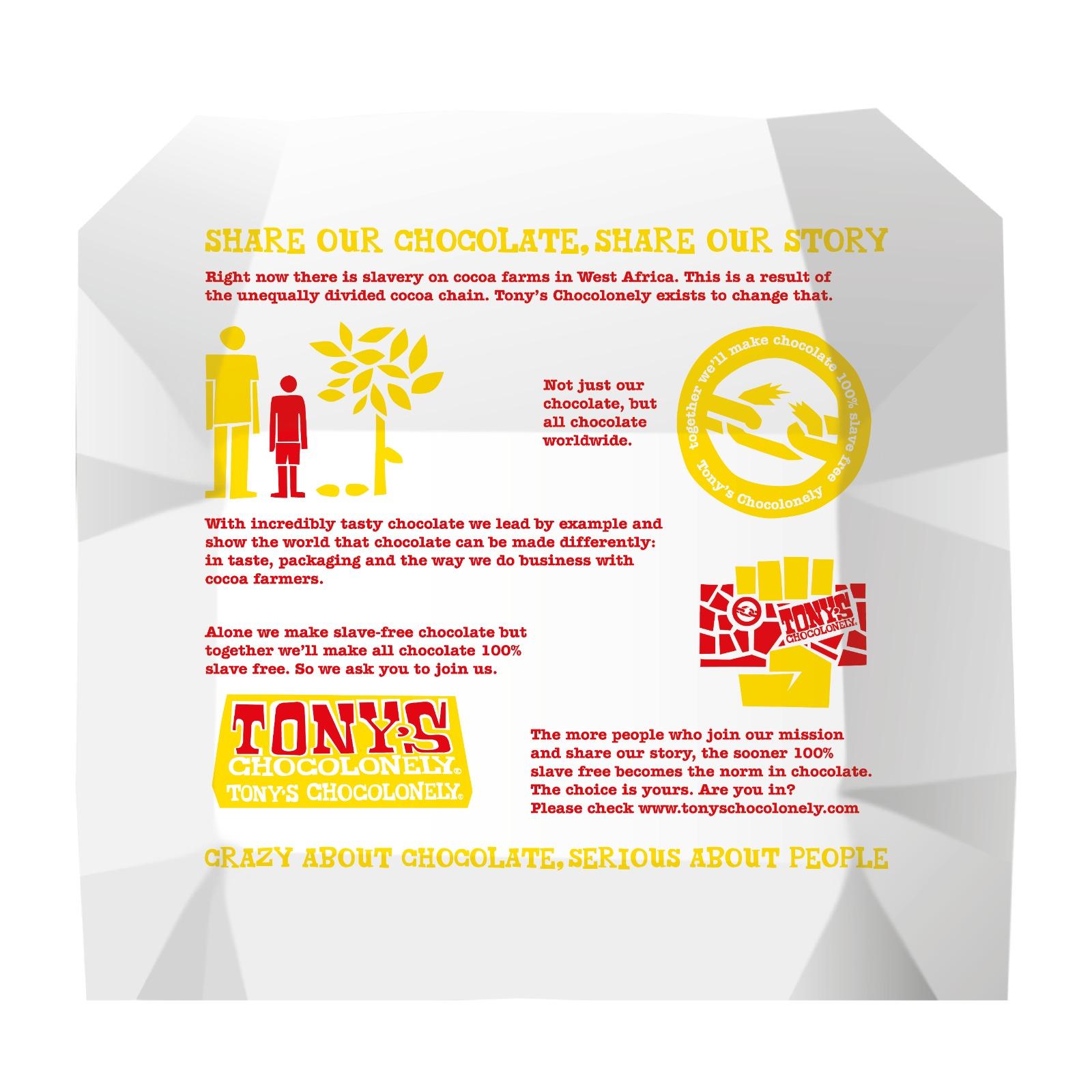 Milk Honey Almond Nougat 32% | Tony's Chocolonely