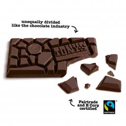 Dark Almond Sea Salt 51% | Tony's Chocolonely