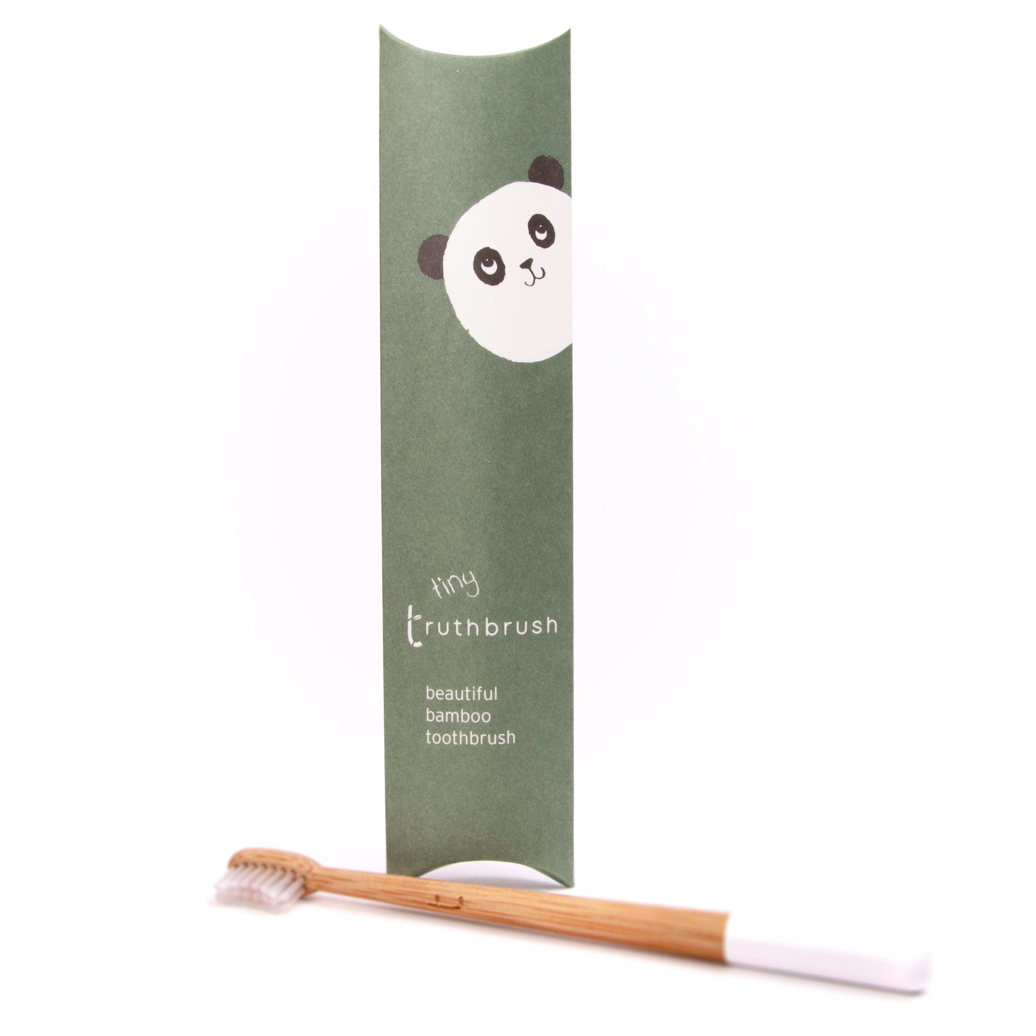 Bamboo Tiny Toothbrush   Truthbrush