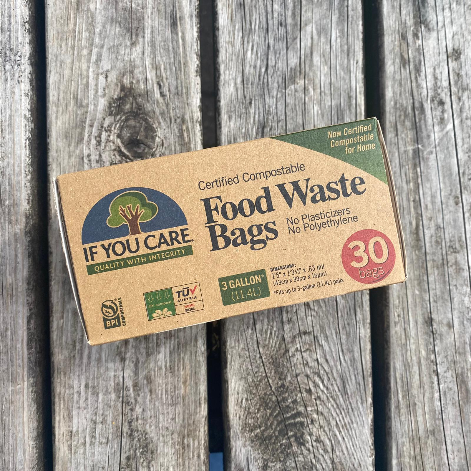 Compostable Food Waste Bags   If You Care