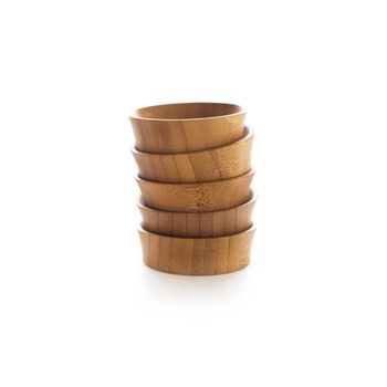 Bamboo Condiment Cups