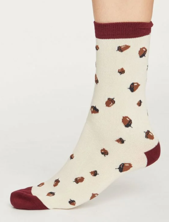 Autumn Leaves Bamboo Sock Gift Box | Thought Clothing
