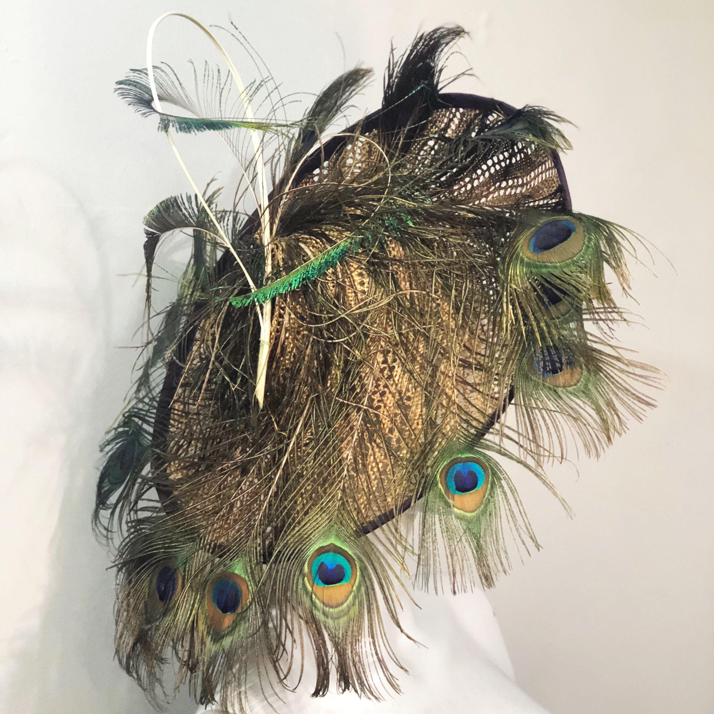 Peacock whirl