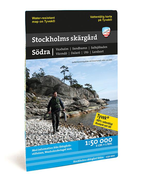 KARTA CALAZO SÖDRA SKÄRGÅRDEN