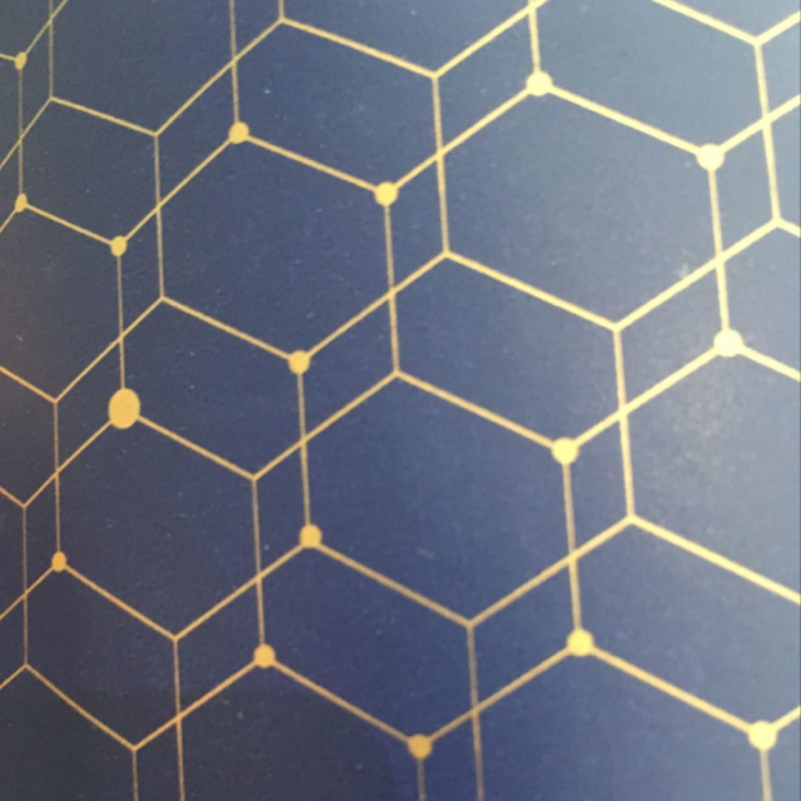 Austin Wrap (dark blue & gold)