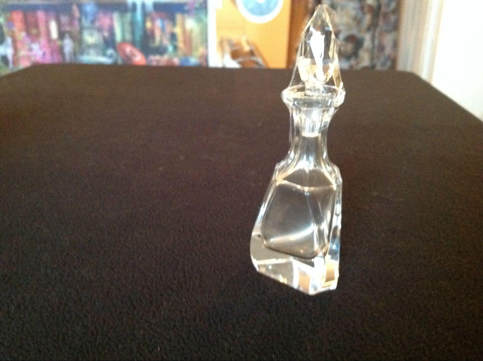 Karaff, glas - kristall liten (second hand, vintage, retro)