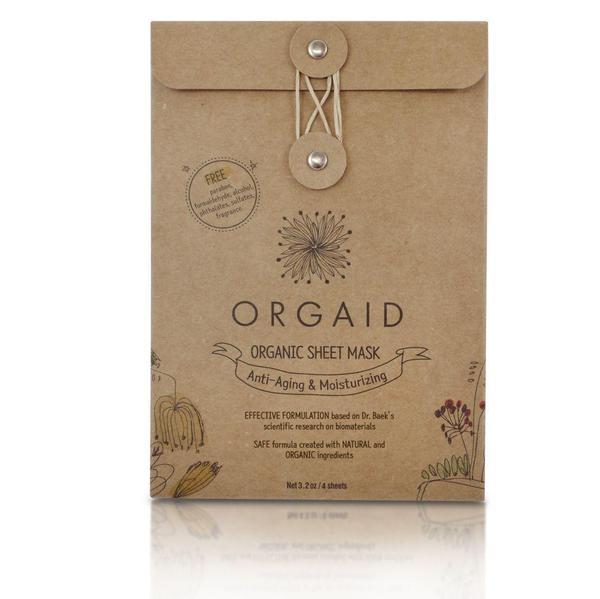 Orgaid Sheet Mask Box