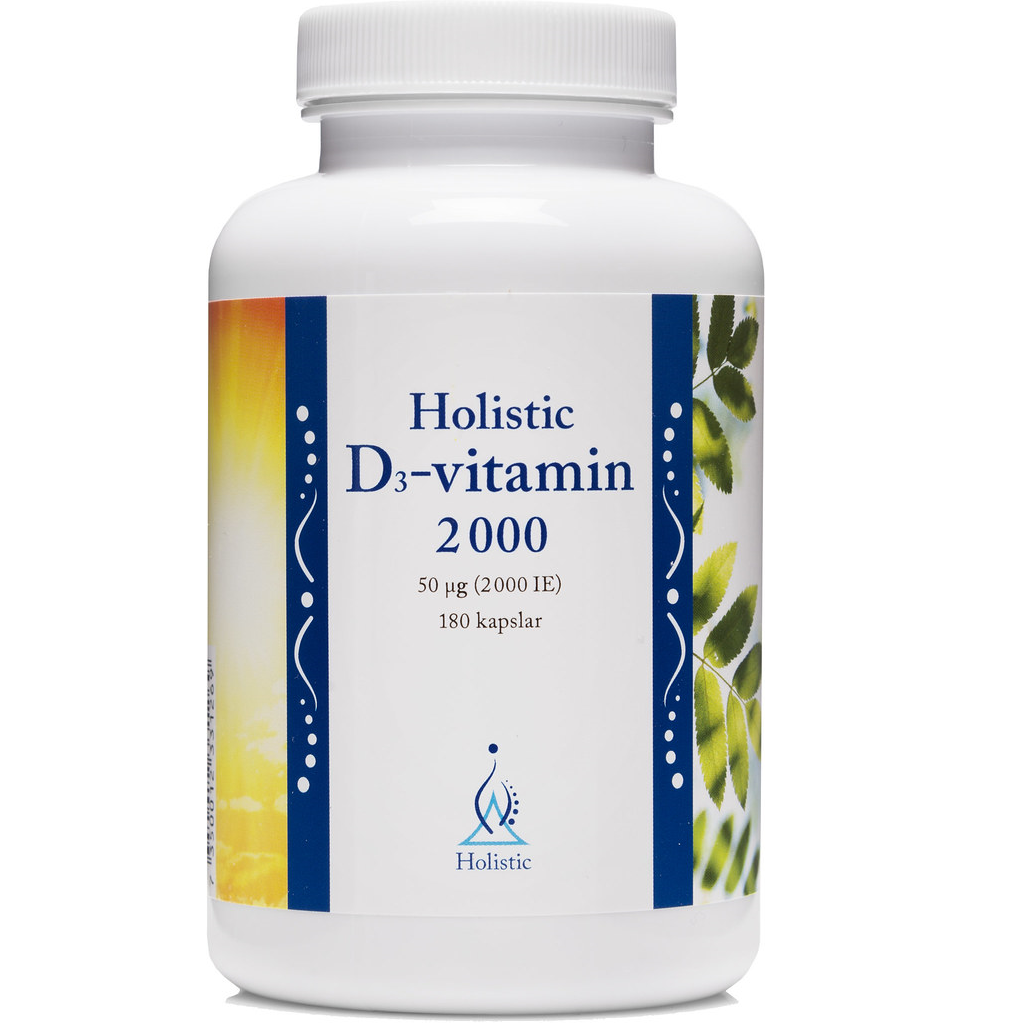 Holistic D-vitamin 2000