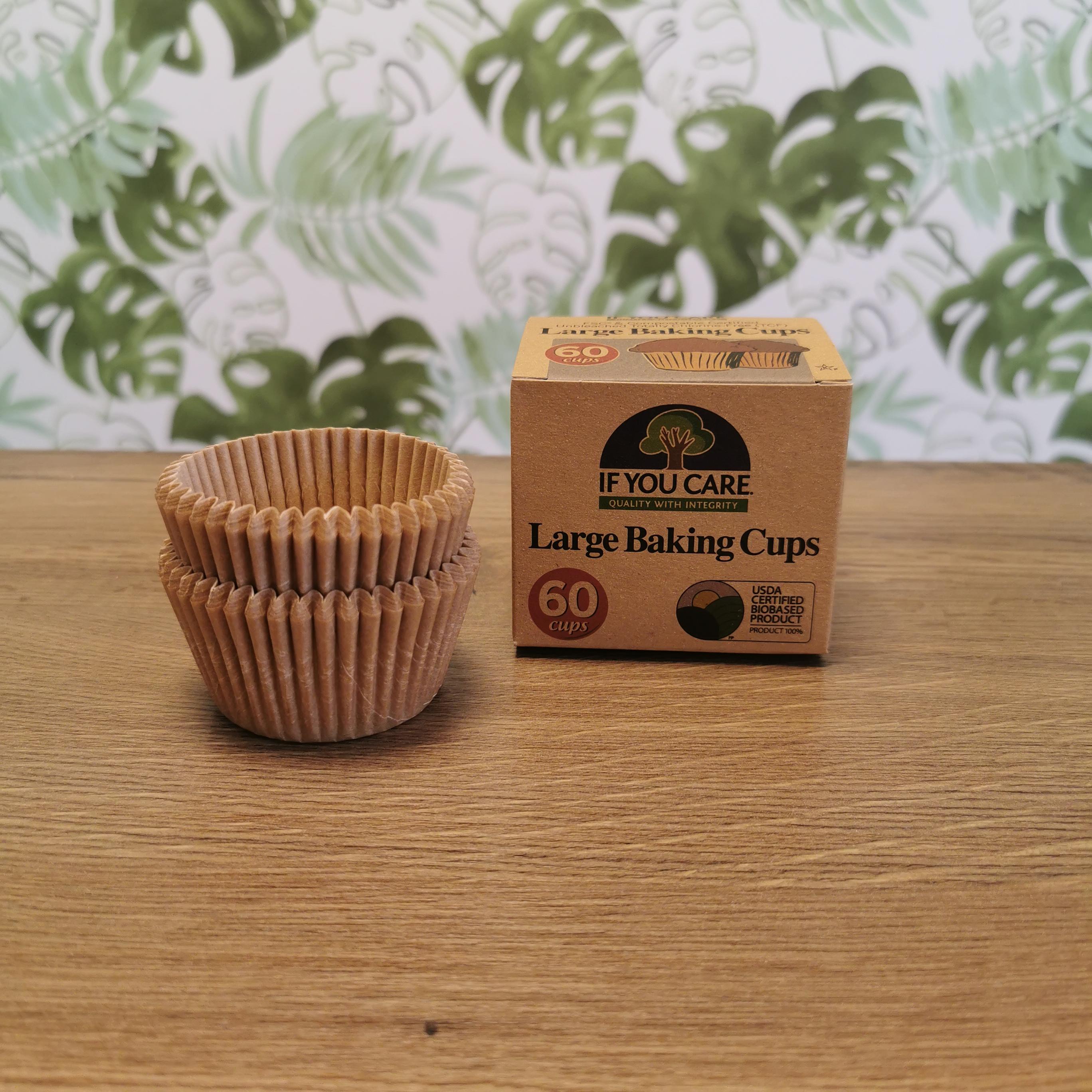 If You Care Oblekta Muffinsformar