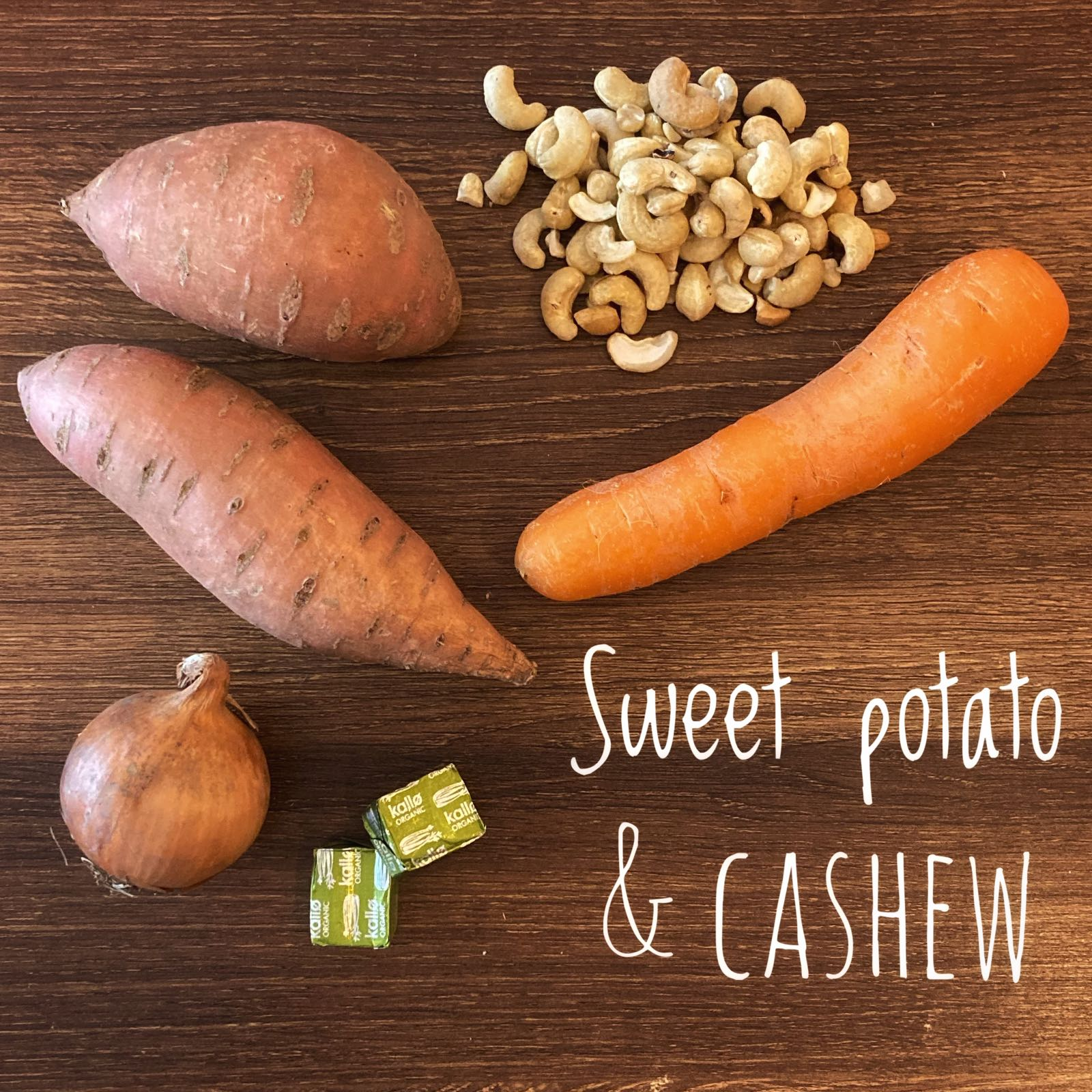 Sweet Potato and Cashew Soup Bag (vgn/gf)