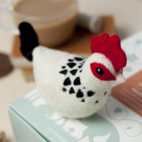 Sussex Chicken Needle Felting Kit
