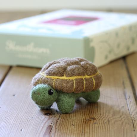 Tortoise Large Needle Felting Kit