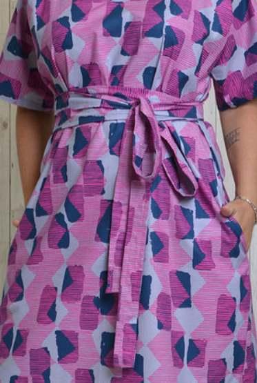 Kobi Dress Sewing Pattern - by Emporia