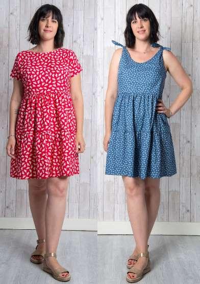 Cassie Dress Sewing Pattern - By Emporia