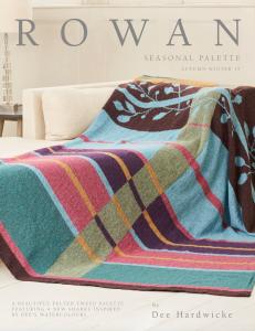 Dee Hardwicke Seasonal Palette Rowan Pattern  Book