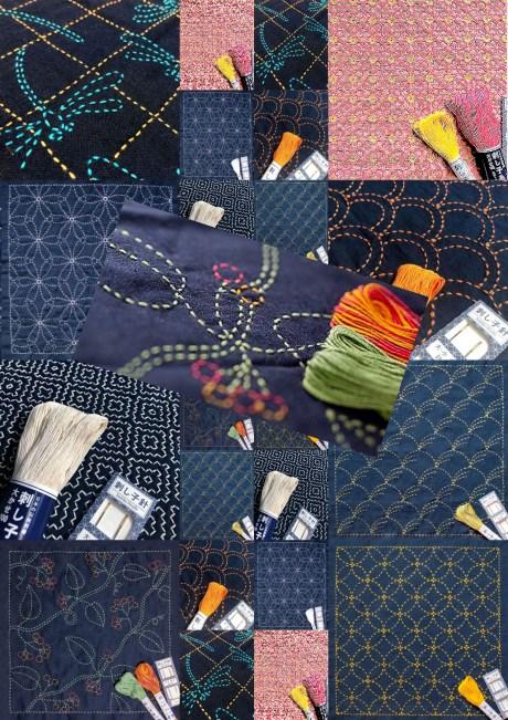 Sashiko Embroidery Starter Kits