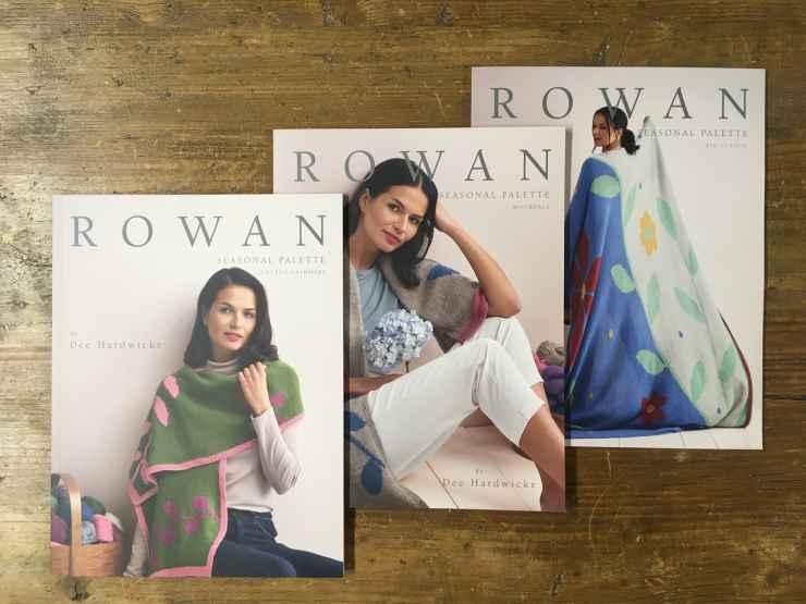 Dee Hardwicke - New Rowan Seasonal Palette Books Bundle