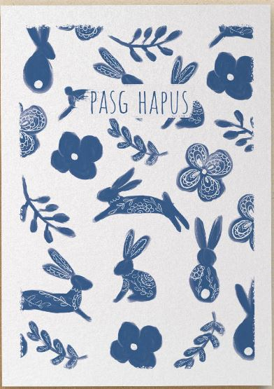 Pasg Hapus - Happy Easter Greetings Card