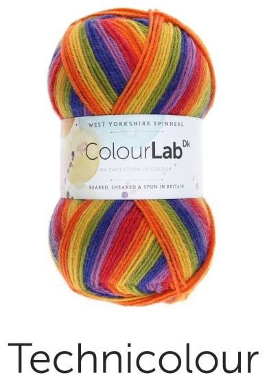 ColourLab Double Knitting Wool - 100% British   Wool
