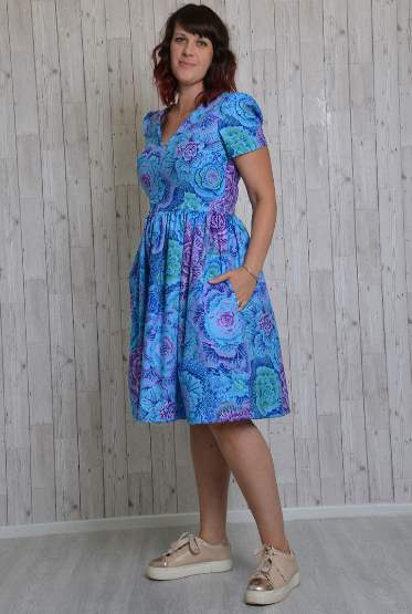 Lotta Dress Sewing Pattern - by Emporia