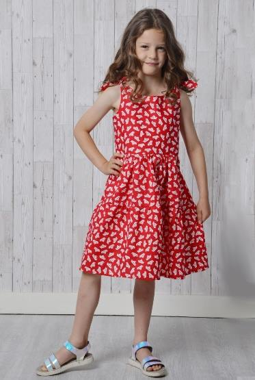 Bella Children's Dress Sewing Pattern - by Emporia