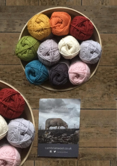 Cambrian Mountains Wool Double Knitting Pack
